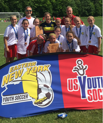 RVC Chargers U12 win the NY Arch Challenge Cup