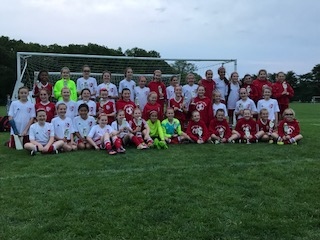 RVC Girls U11 Legacy, Velocity and Titan Teams