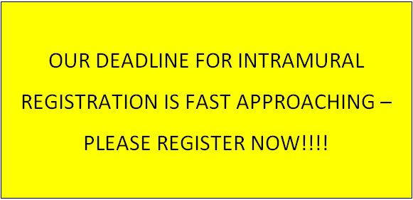 Intramural Registration