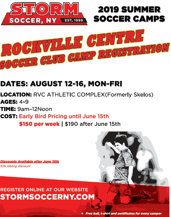 2019 RVC August Summer Camp Ages 4-9